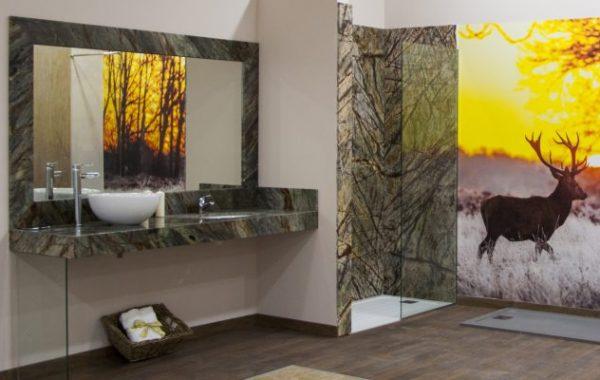 Baño de Mármol Forest