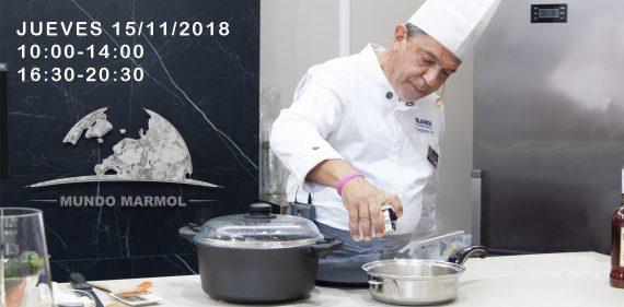 Show cooking en Mundo Marmol